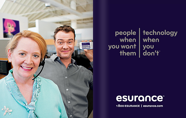 Esurance rebrand launches with TV, cinema, interactive, OOH