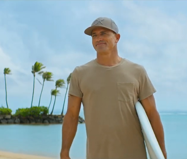 """Catching """"Waves"""" with Kelly Slater"""